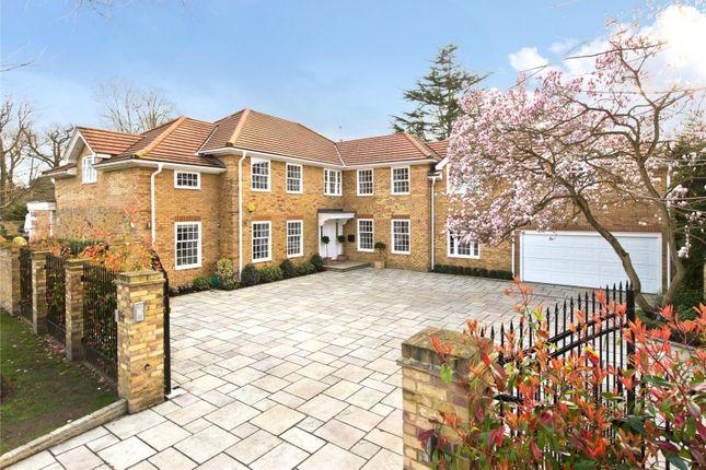 Thumbnail Detached house for sale in Amblecote, Cobham, Surrey