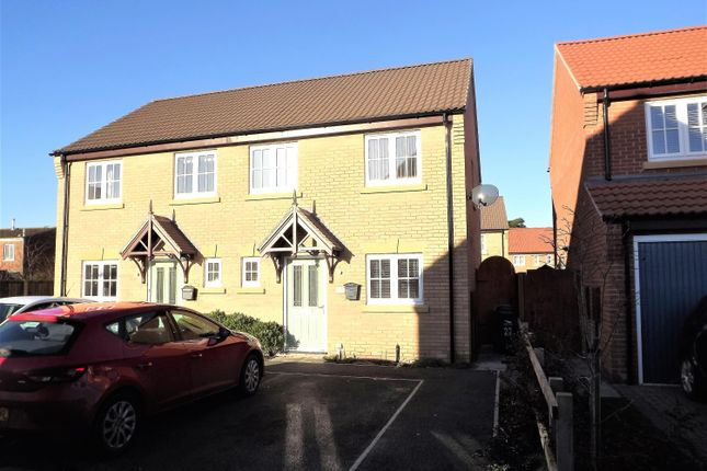 Thumbnail Semi-detached house for sale in Hamilton Way, Coningsby, Lincoln