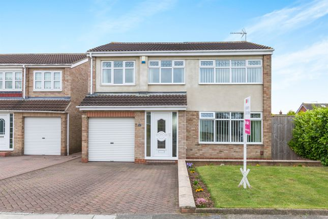Thumbnail Detached house for sale in Brandon Close, Hartlepool