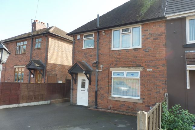 Thumbnail Semi-detached house for sale in Edmund Road, Dudley