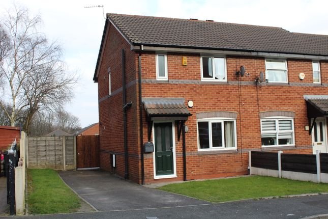Thumbnail Semi-detached house to rent in Brentwood Drive, Farnworth