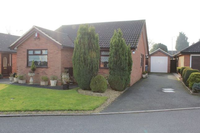 Thumbnail Detached bungalow for sale in Sycamore Close, Uttoxeter