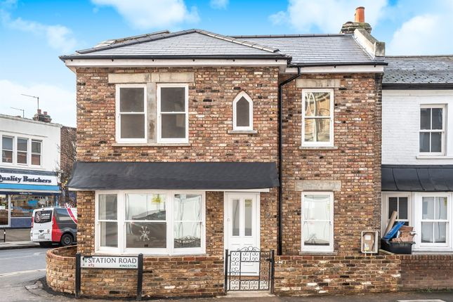 2 bed end terrace house for sale in Station Road, Norbiton, Kingston Upon Thames KT2