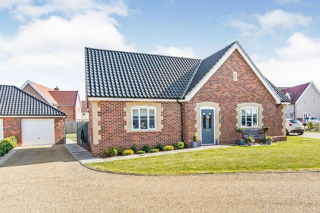 Thumbnail Detached bungalow for sale in Felgate Way, Grundisburgh, Woodbridge