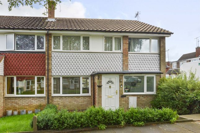 Thumbnail End terrace house for sale in The Don, Bletchley, Milton Keynes