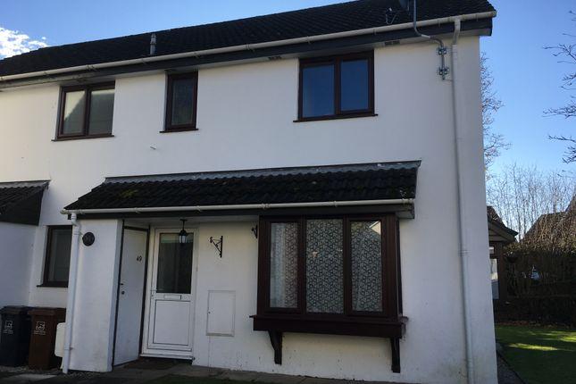 2 bed terraced house to rent in Yeolland Park, Ivybridge