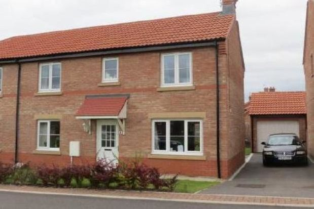 Thumbnail Semi-detached house to rent in Heather Court, Norton, Malton