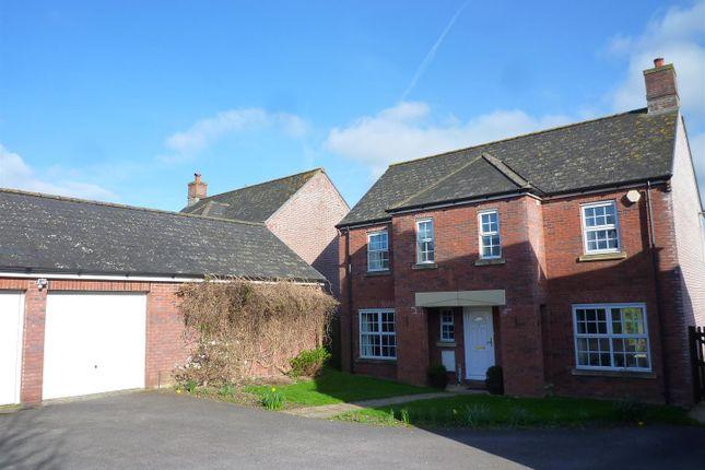 Thumbnail Detached house for sale in Lacock Gardens, Hilperton, Trowbridge