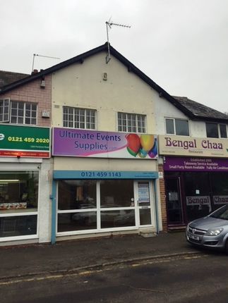 Thumbnail Retail premises to let in Pershore Road, Birmingham