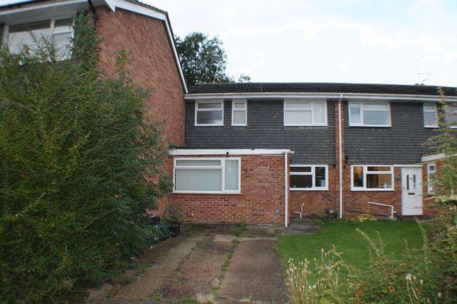 Thumbnail Terraced house to rent in Harefield Close, Winnersh, Wokingham
