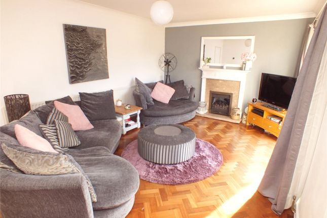 Thumbnail Detached house for sale in Dinorben Avenue, Fleet, Hampshire