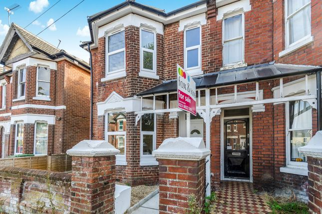 Thumbnail Semi-detached house for sale in Newcombe Road, Shirley, Southampton