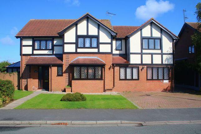 Thumbnail Detached house for sale in Rhodfa Anwyl, Rhuddlan, Rhyl