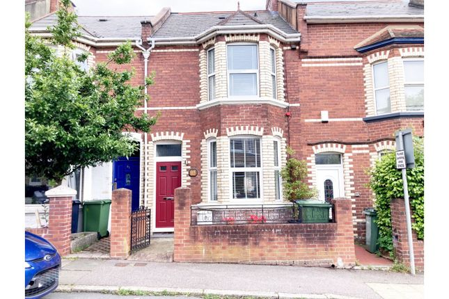 Terraced house for sale in Park Road, Exeter