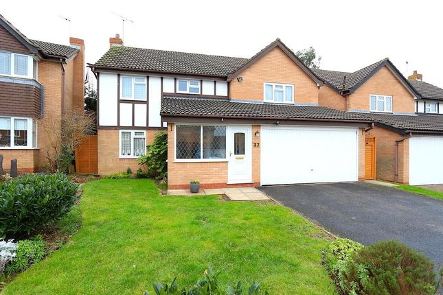 Thumbnail Detached house for sale in Somerset Drive, Glenfield, Leicester