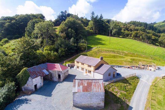 Thumbnail Detached house for sale in Garth, Glyn Ceiriog, Llangollen