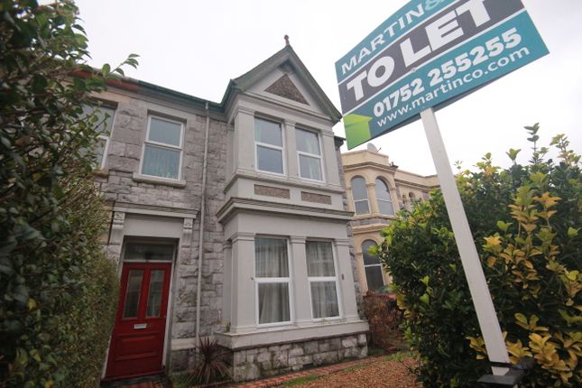Thumbnail Shared accommodation to rent in North Road East, Plymouth