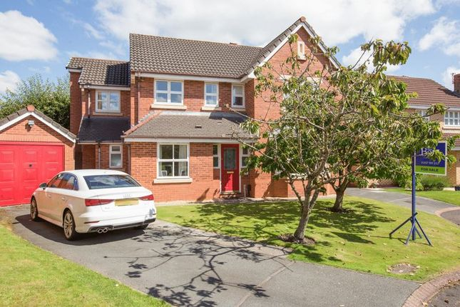 Thumbnail Detached house for sale in Water Drive, Standish, Wigan