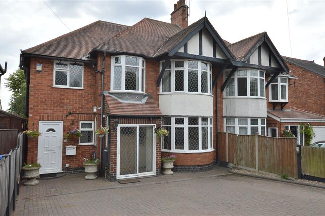 Thumbnail Semi-detached house for sale in Duffield Road, Allestree, Derby