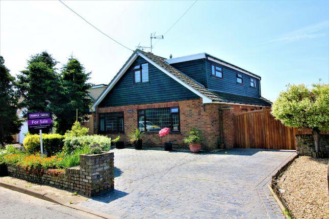 Thumbnail Detached bungalow for sale in Princess Margaret Road, East Tilbury Village