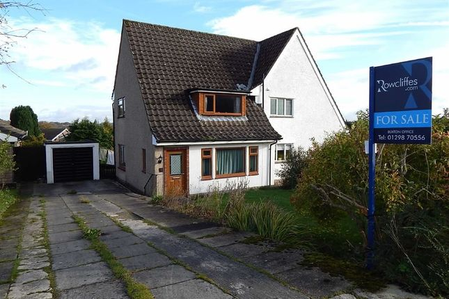 Thumbnail Semi-detached house for sale in Goytlands, Buxton