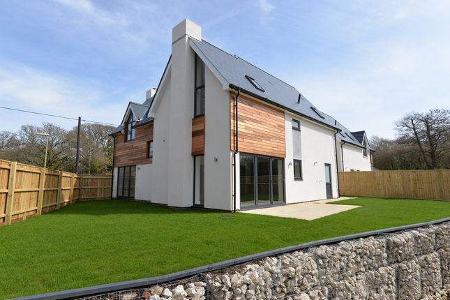 Thumbnail Detached house for sale in Sylvan Close, Hordle, Lymington