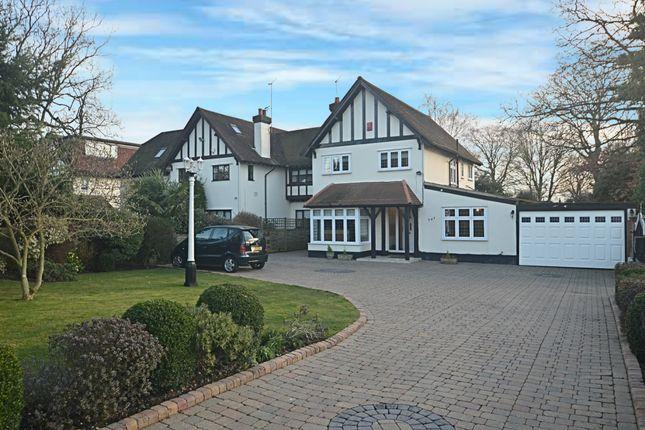 Thumbnail Semi-detached house for sale in Leesons Hill, Chislehurst