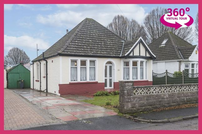 Thumbnail Detached bungalow for sale in Clas Dyfrig, Whitchurch, Cardiff