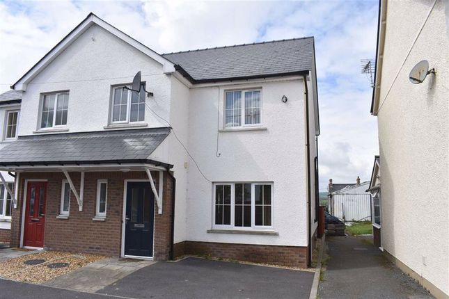 Thumbnail Semi-detached house for sale in Llanybydder