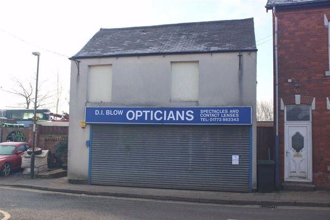 Thumbnail Retail premises for sale in Market Place, South Normanton, Derbyshire