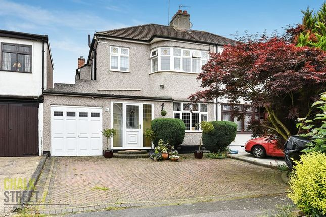 Thumbnail Semi-detached house for sale in Meadowside Road, Upminster