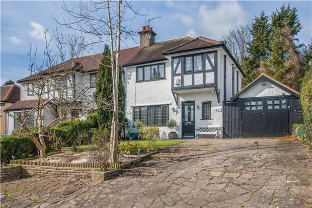 Thumbnail Semi-detached house for sale in Brighton Road, Purley, Surrey