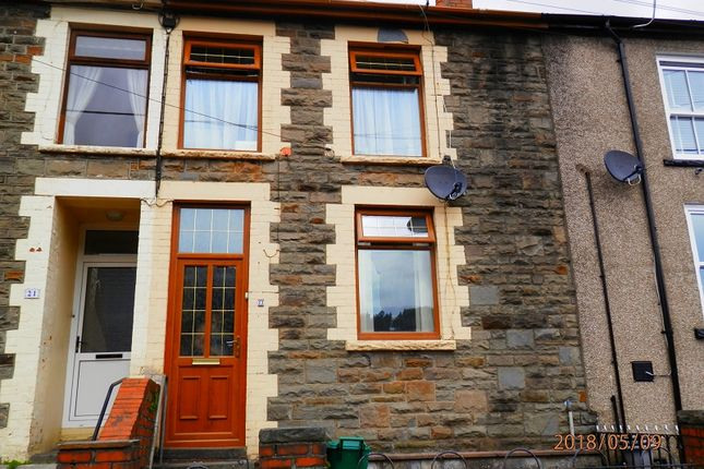 Thumbnail Terraced house to rent in Castle Street, Cwmparc, Rhondda Cynon Taff.
