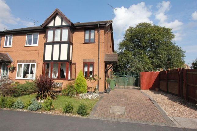 3 bed semi-detached house for sale in Ellison Close, Stoney Stanton, Leicester
