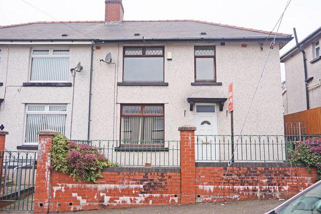 Thumbnail Semi-detached house for sale in Glanddu Terrace, Tir-Y-Berth