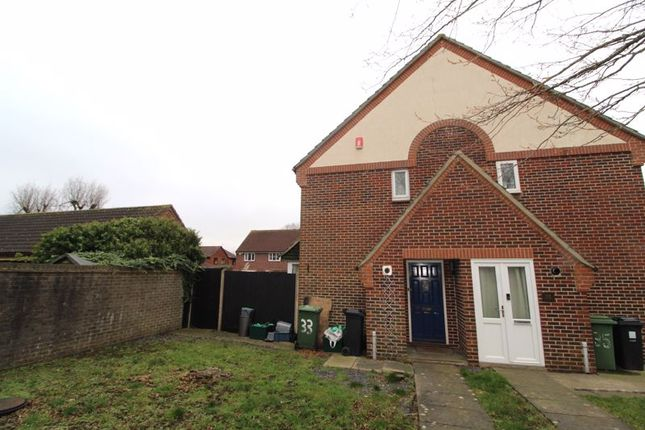 1 bed end terrace house for sale in Foxfield Avenue, Bradley Stoke, Bristol BS32