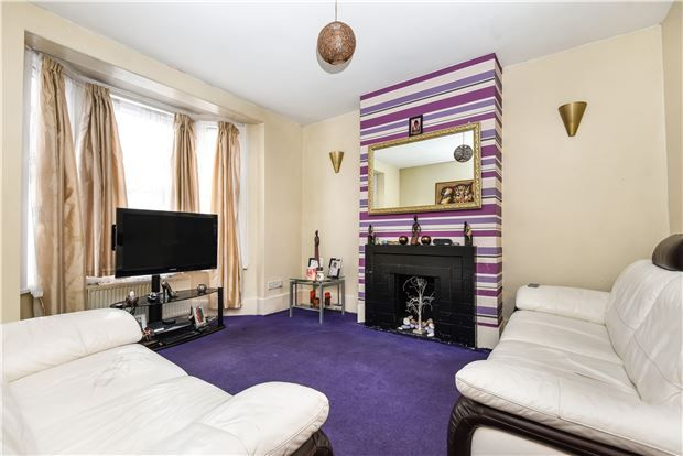 Thumbnail End terrace house for sale in Moffat Road, Thornton Heath