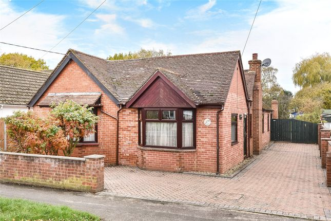 Thumbnail Detached bungalow for sale in College Road, College Town, Sandhurst, Berkshire