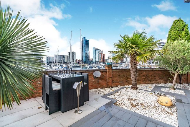 Thumbnail Town house for sale in Calshot Court, Channel Way, Ocean Village
