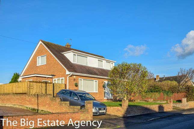 Thumbnail Detached bungalow for sale in Normanby Drive, Connah's Quay, Deeside