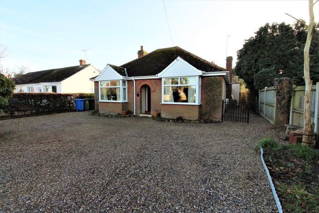 Thumbnail Detached bungalow for sale in White's Lane, Kessingland