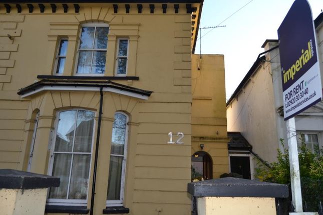 Thumbnail Flat to rent in 12, The Walk, Roath, Cardiff, South Wales