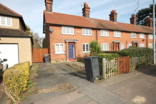Thumbnail End terrace house to rent in The Chase, Chigwell