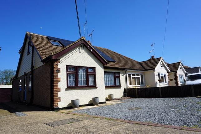 Thumbnail Semi-detached bungalow for sale in Orchard Lane, Brentwood