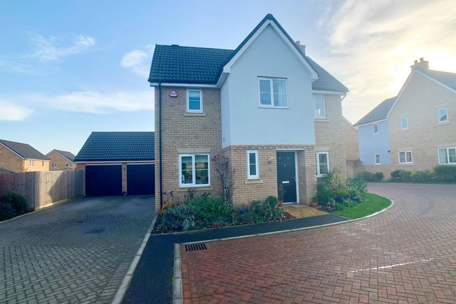 Thumbnail Detached house for sale in People Park Way, Sudbury