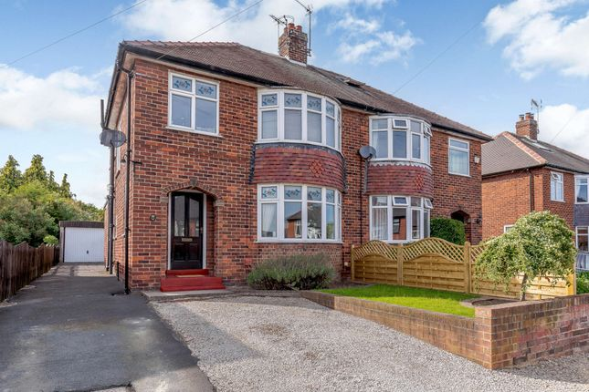 Thumbnail Semi-detached house for sale in Aspin Avenue, Knaresborough, North Yorkshire