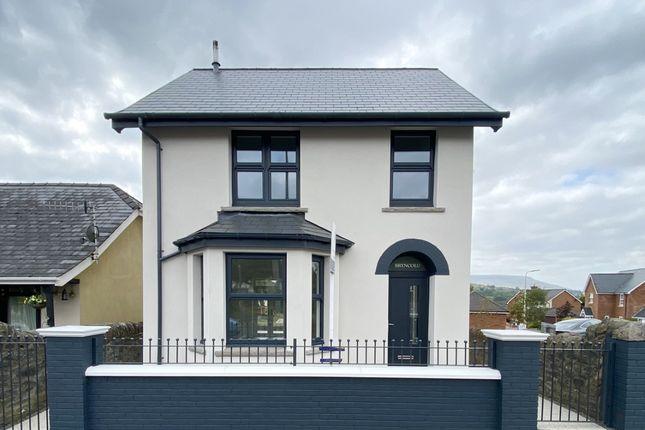 Thumbnail Detached house for sale in Bryncoed, Llwydcoed Road, Llwydcoed, Aberdare, Mid Glamorgan