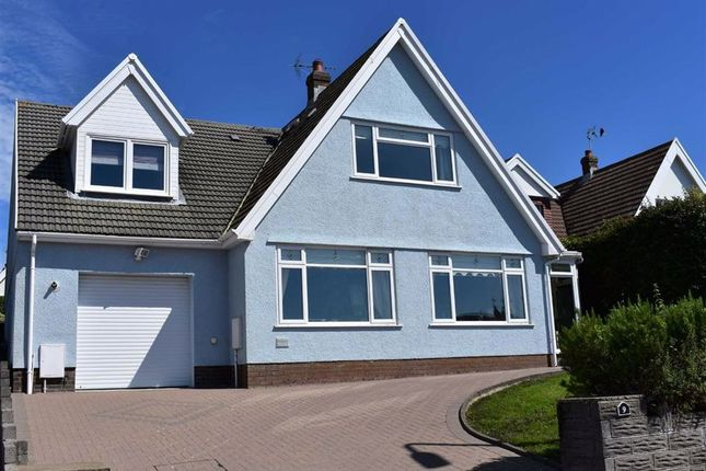 Thumbnail Detached house for sale in Cambridge Gardens, Mumbles, Swansea