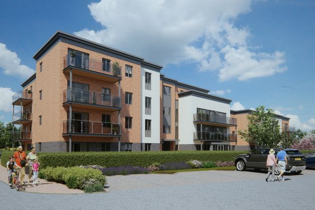 Thumbnail Flat for sale in Ilex Close, Llanishen, Cardiff