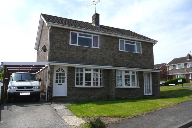 2 bed semi-detached house to rent in Castle Gardens, The Danes, Chepstow NP16